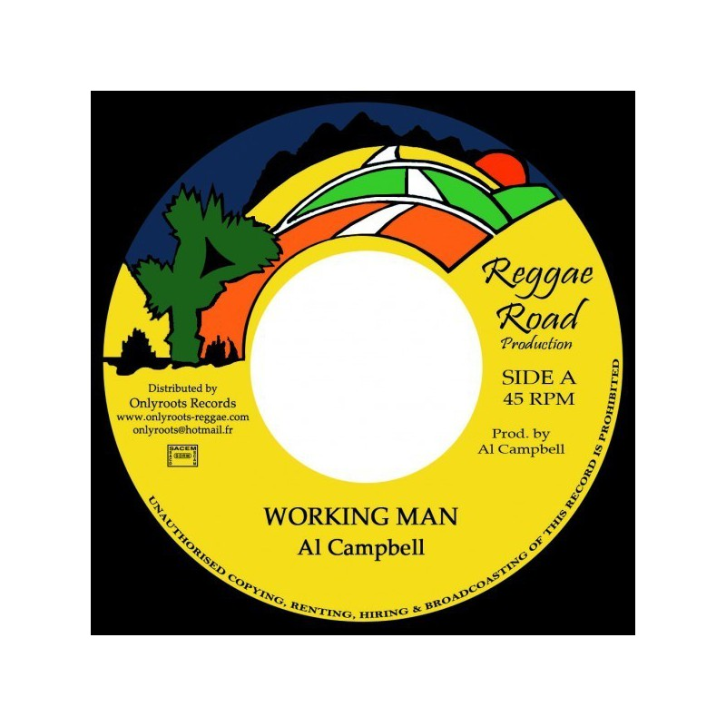 "(7"") AL CAMPBELL - WORKING MAN / VERSION"