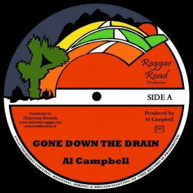 "(12"") AL CAMPBELL - GONE DOWN THE DRAIN (Extented) / MARY ANN"