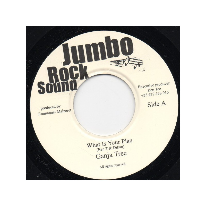 "(7"") GANJA TREE - WHAT IS YOUR PLAN"