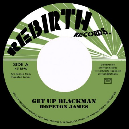 "(7"") HOPETON JAMES - GET UP BLACKMAN"