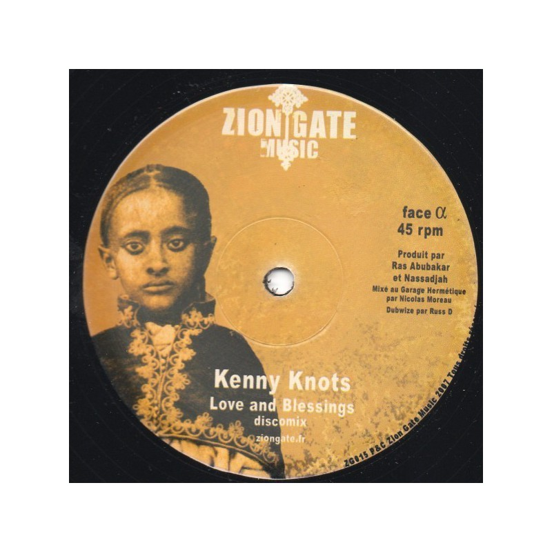 "(12"") KENNY KNOTS - LOVE AND BLESSINGS"