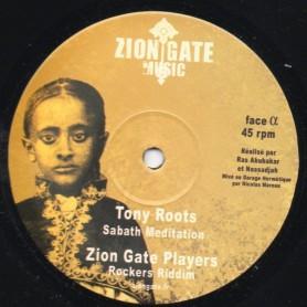 """(12"""") TONY ROOTS - SABATH MEDITATION"""