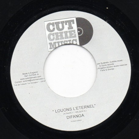 "(7"") DIFANGA - LOUONS L'ETERNEL / CUT CHIE - VERSION"