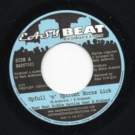 """(7"""") EASY BEAT RIDDIM SECTION Feat E.RIEBAND - UPFULL 'N' UPFRONT HORNS LICK"""