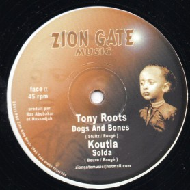 """(12"""") TONY ROOTS - DOGS AND BONES"""