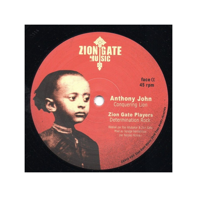 "(12"") ANTHONY JOHN - CONQUERING LION"