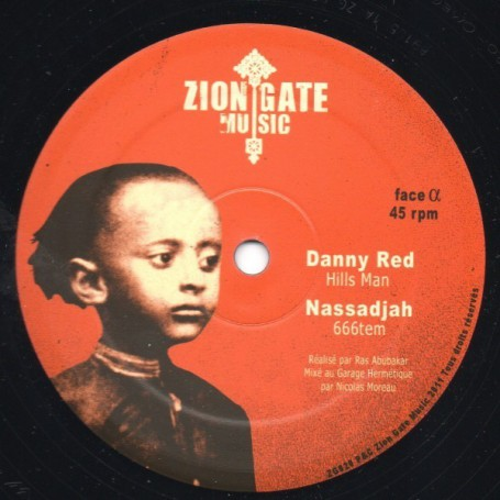 "(12"") DANNY RED - HILLS MAN"