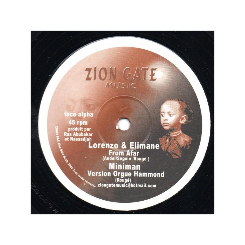 "(12"") LORENZO & ELIMANE - FROM AFAR"