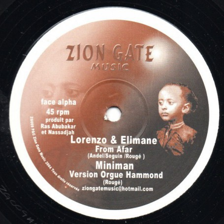 "(12"") LORENZO & ELIMANE - FROM AFAR"