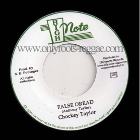 "(7"") CHOCKEY TAYLOR - FALSE DREAD"