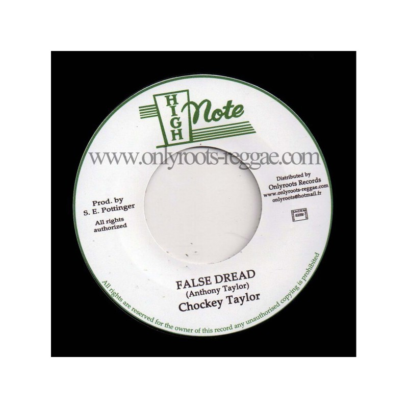"(7"") CHOCKEY TAYLOR - FALSE DREAD"