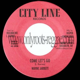 "(7"") WAYNE JARRETT - COME LET'S GO / JERRY JOHNSON - ZION ROCK VERSION"