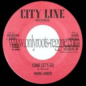 """(7"""") WAYNE JARRETT - COME LET'S GO"""