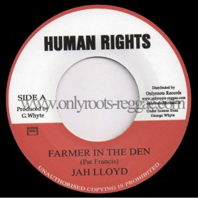 "(7"") JAH LLOYD - FARMER IN THE DEN"