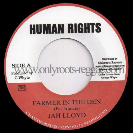 "(7"") JAH LLOYD - FARMER IN THE DEN"