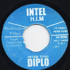"(7"") PETER TOSH - BUCKINGHAM PALACE"