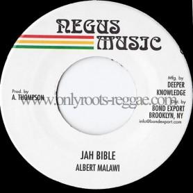 "(7"") ALBERT MALAWI - JAH BIBLE"