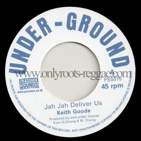 """(7"""") KEITH GOODE - JAH JAH DELIVER US / VERSION"""