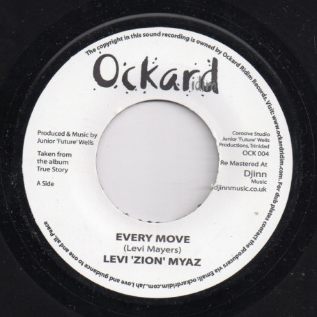 "(7"") LEVI 'ZION' MYAZ - EVERY MOVE"