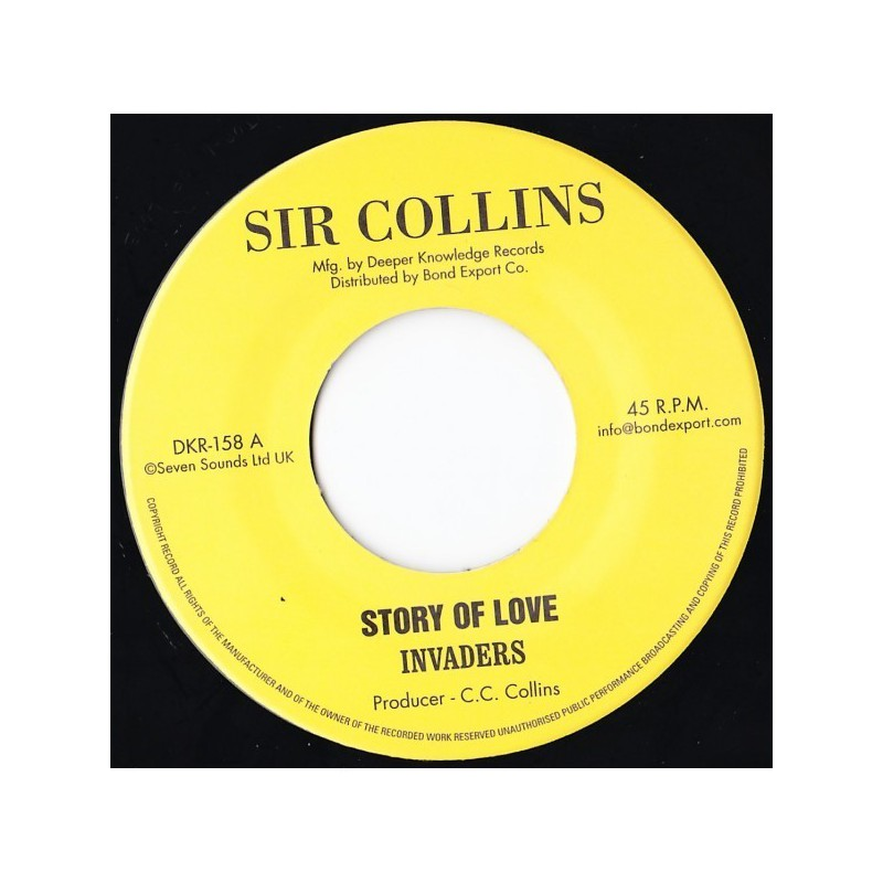 "(7"") INVADERS - STORY OF LOVE / HOLY MOUNTAIN"