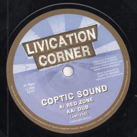 "(7"") COPTIC SOUND - RED ZONE"