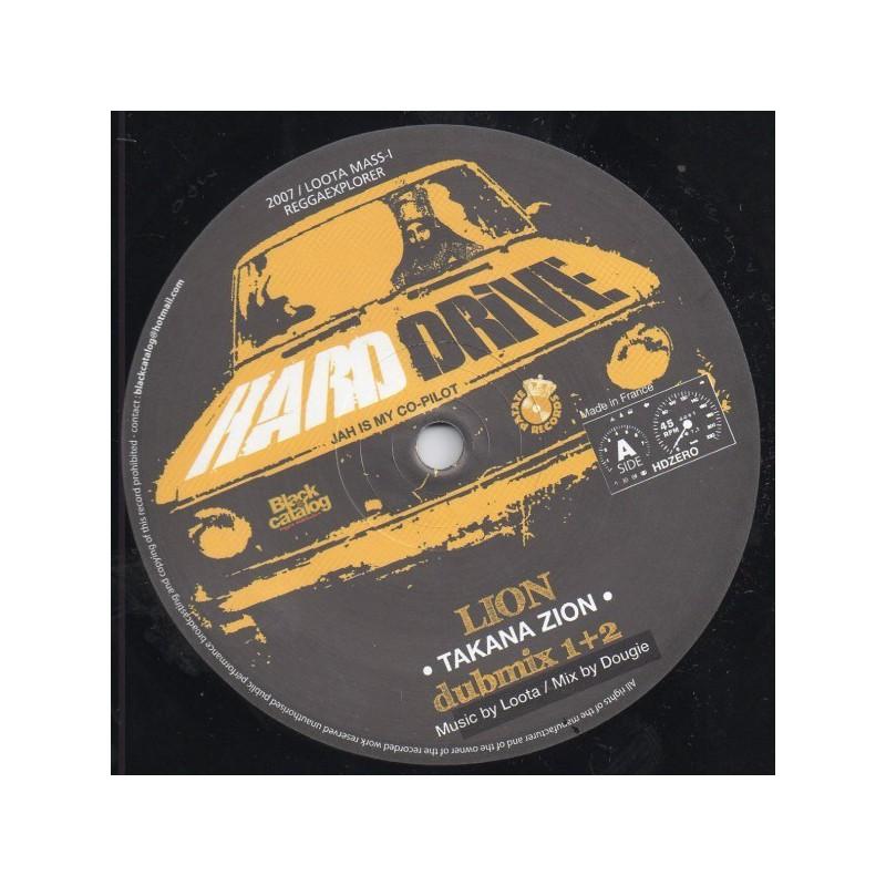 "(10"") TAKANA ZION - LION / LOOTA (Mass-I) ALPHA DUB"