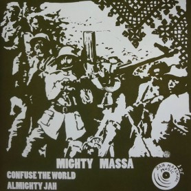 "(10"") MIGHTY MASSA - CONFUSE THE WORLD / ALMIGHTY JAH"