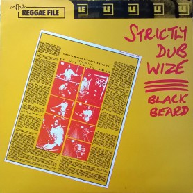 (LP) DENNIS BOVELL BLACK BEARD - STRICTLY DUB WIZE