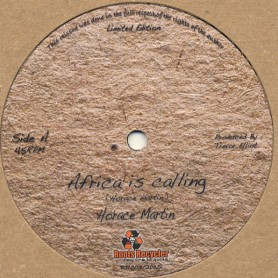 "(12"") HORACE MARTIN - AFRICA IS CALLING (Extented) / PEEPING TOM (Extented)"