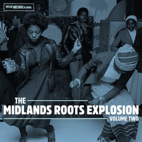 (2xLP) VARIOUS - THE MIDLANDS ROOTS EXPLOSION VOLUME ONE : STEEL PULSE, CAPITAL LETTERS, BLACK SYMBOL...
