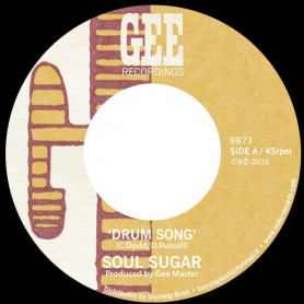 "(7"") SOUL SUGAR - DRUM SONG / VERSION"