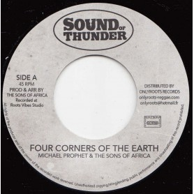 "(7"") MICHAEL PROPHET & THE SONS OF AFRICA - FOUR CORNERS OF THE EARTH / Mr HAZE - FOUR CORNERS DUB"