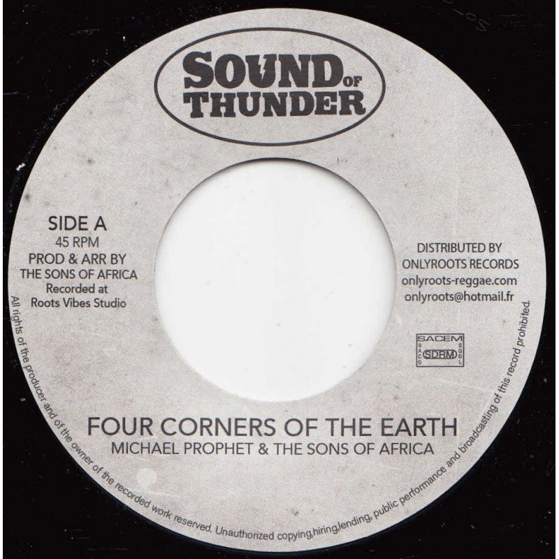 7 Michael Prophet The Sons Of Africa Four Corners Of The Earth