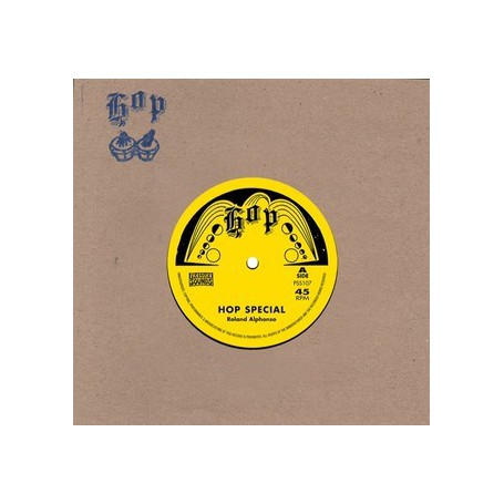 "(7"") ROLAND ALPHONSO - HOP SPECIAL / THE INVENTORS - FOOD OF LOVE"