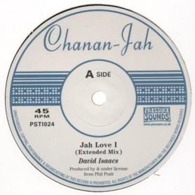"""(10"""") DAVID ISAACS - JAH LOVE I (Extented) / FREDDIE McKAY - IT DE HAY - IT DE HAY VERSION"""