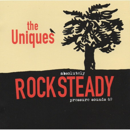 (LP) UNIQUES - ABSOLUTELY ROCK STEADY