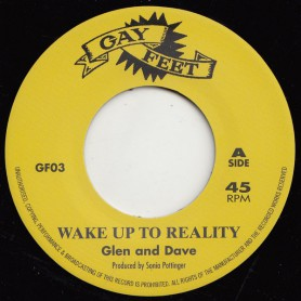 """(7"""") GLEN & DAVE - WAKE UP TO REALITY / COUNT OSSIE - MUSICAL PRESSURE"""