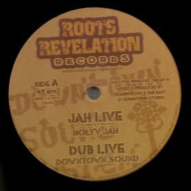 """(12"""") HOLYV JAH - JAH LIVE + DUB"""