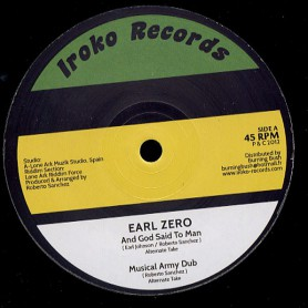"(12"") EARL ZERO - AND GOD SAID TO MAN / NONE SHALL ESCAPE THE JUDGEMENT"