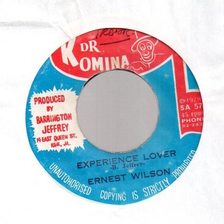 """(7"""") ERNEST WILSON - EXPERIENCE LOVER / HAROLD BUTLER - LOVER'S JOY"""