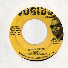 "(7"") LOVE GENERATION - MONEY RAPER"