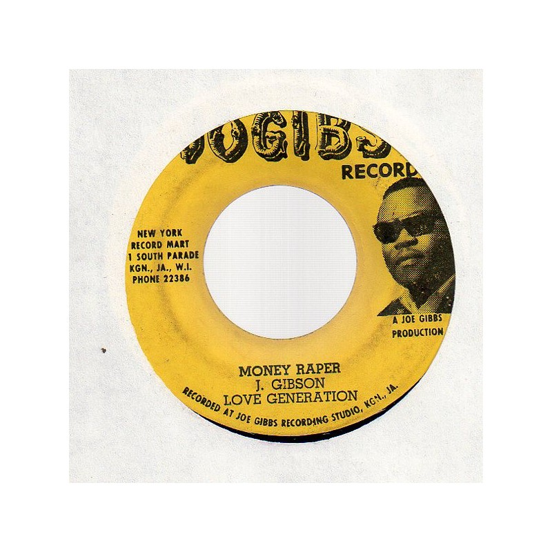 "(7"") LOVE GENERATION - MONEY RAPER"