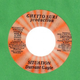 "(7"") DURRANT GAYLE - SITUATION"