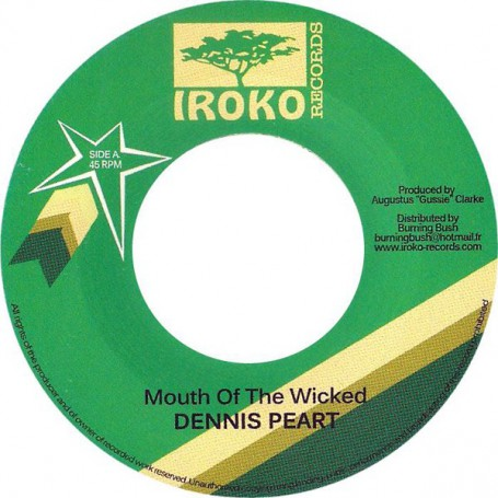 "(7"") DENNIS PEART - MOUTH OF THE WICKED"