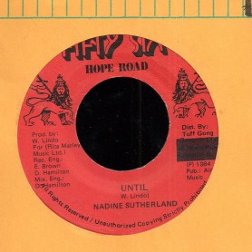 "(7"") NADINE SUTHERLAND - UNTIL"