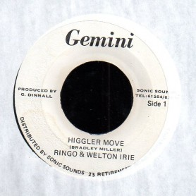 "(7"") RINGO & WELTON IRIE - HIGGLER MOVE"