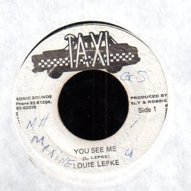 "(7"") LOUIE LEPKIE - YOU SEE ME / VERSION"