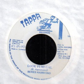 "(7"") BERES HAMMOND - LOOK FI MI GAL / VERSION"