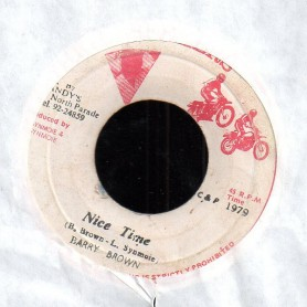 "(7"") BARRY BROWN - NICE TIME / VERSION"