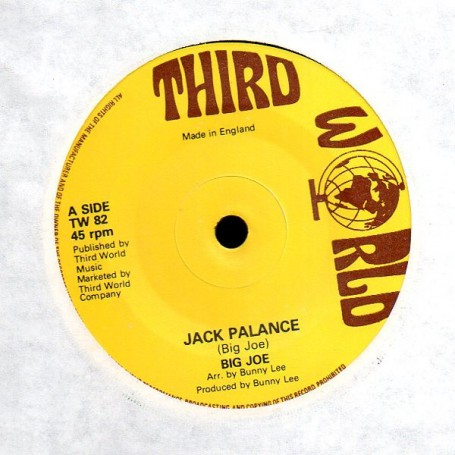 "(7"") BIG JOE - JACK PALANCE / VERSION"